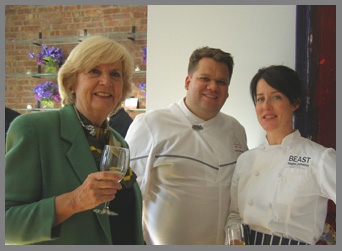 Gillian Duffy, Chef Harold Moore, and Chef Naomi Pomeroy - Photo by Luxury Experience