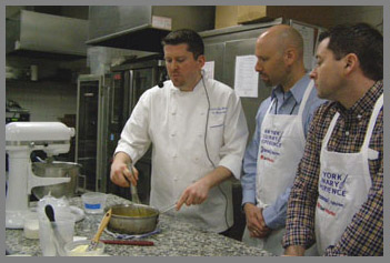 Chef Laurie Jon Moran and Students  - NY Culinary Experience 2013 - photo by Luxury Experience
