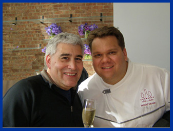 Chef Harold Moore and Edward Nestaat New York Culinary Experience - photo by Luxury Experience