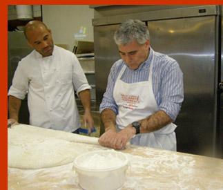 Baker Kamel Saci, Edward Nesta -International Culinary Cener - Photo by Luxury Experience