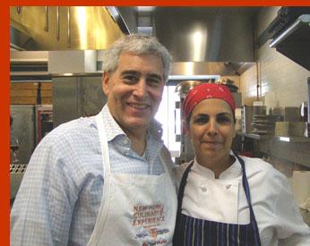 Chef Einat Admony, Edward Nesta - International Culinary Cener - Photo by Luxury Experience