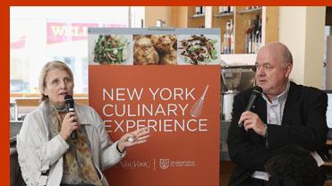 Dorothy Hamilton Adam Platt - International Culinary Cener - Photo by Luxury Experience
