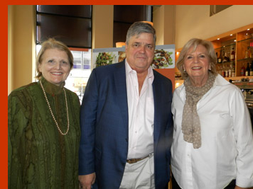 Dorothy Hamilton, Colman Andrews, Gillian Duffy -International Culinary Cener - Photo by Luxury Experience