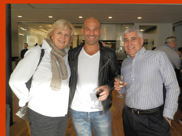 Gillian Duffy,Kamel Saci, Edward Nesta - International Culinary Cener - Photo by Luxury Experience