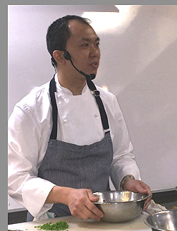 Chef Chung Chow - photo by Luxury Experience