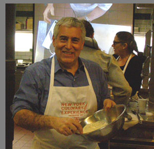 Edward F. Nesta mixing crema -  NYCE - photo by Luxury Experience