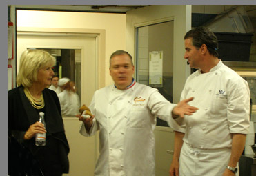 Gillian Duffy, Chef Jacques Torres, Chef Kerry Hefferman - NYCE - photo by Luxury Experience