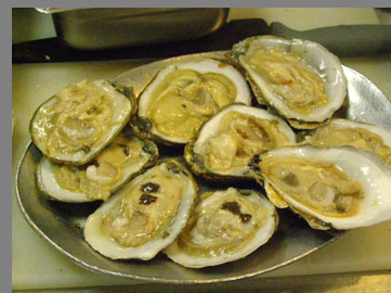 Raw Oysters -Chef Kerry Hefferman - NYCE - photo by Luxury Experience
