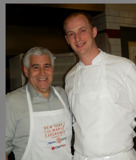 Chef Francois Hiegel and Edward F. Nesta - photo by Luxury Experience