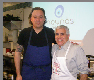 Chef Paul Liebrandt, Edward F. Nesta - New York Culinary Experience - photo by Luxury Experience