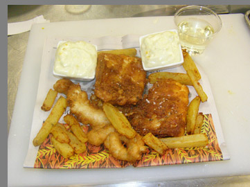 Fish & Chips - Chef Paul Liebrandt - New York Culinary Experience - photo by Luxury Experience