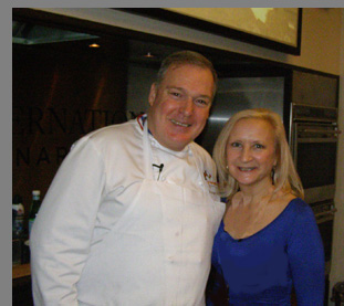 Chef Jacques Torres, Debra C. Argen - NYCE 2016 - photo by Luxury Experience