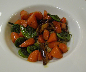 Carrots and Barley Risotto by Chef Michael Anthony, New York Culinary Experience, The International Culinary Center - Photo by Luxury Experience