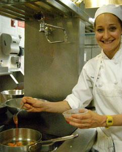 Sonia Kap at New York Culinary Experience, The International Culinary Center - Photo by Luxury Experience
