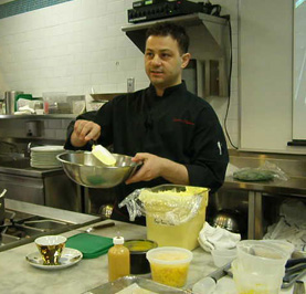 Chef Salvatore Martone - New York Culinary Experience - The International Culinary Center - Photo by Luxury Experience