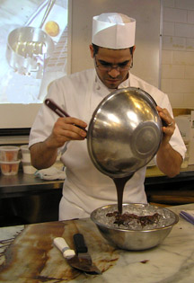 Pastry Chef Richard Rodriguezt at New York Culinary Experience, The International Culinary Center - Photo by Luxury Experience