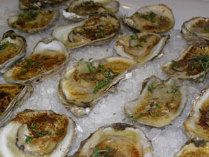 Butter Roasted Oysters - Chef Michel Nischan - New York Culinary Experience - The Internaitonal Culinary Center - Photo by Luxury Experience
