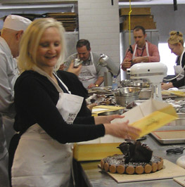Debra Argen at New York Culinary Experience, The International Culinary Center - Photo by Luxury Experience