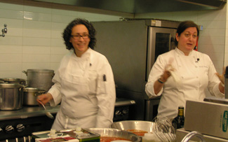 Chef du Cuisine Hillary Sterling and Chef Missy Robbins - New York Culinary Experience - Photo by Luxury Experience