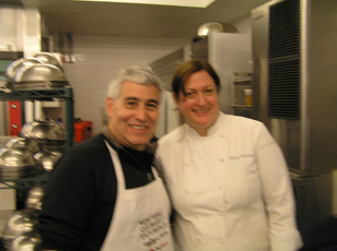 Edward Nesta and Chef Missy Robbins - New York Culinary Experience - Photo by Luxury Experience