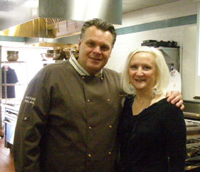 Chef Francois Payard, Debra Argen - New York Culinary Experience - Photo by Luxury Experience