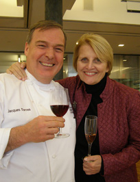 Chef Jacque Torres, Dorothy Cann Hamilton  - New York Culinary Experience - Photo by Luxury Experience
