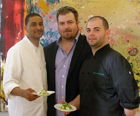 Chef Joe Johnston, Stanton Du Toit, Chef Cesare De Chellis - New York Culinary Experience - Photo by Luxury Experience