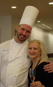 Chef Jurgen David, Debra Argen - New York Culinary Experience - Photo by Luxury Experience