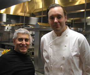 Chef Paul Liebrandt, Edward Nesta - New York Culinary Experience - Photo by Luxury Experience