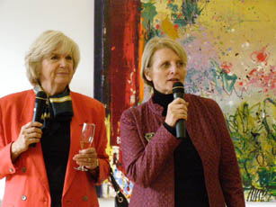 Gillian DUffy and Dorothy Cann Hamilton - New York Culinary Experience - Photo by Luxury Experience