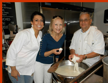 AnnaMarie Locilento, Joe Locilento, Debra C. Argen - Bricco Salumeria and Pasta Shop - photo by Luxury Experience