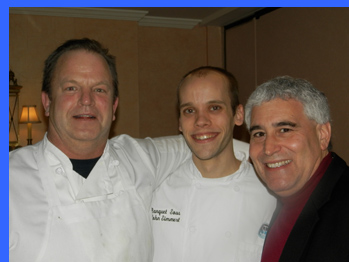 Chef Bill Titus, Chef John, Edward Nesta - photo by Luxury Experience