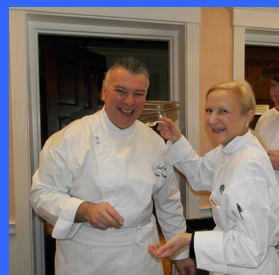 Chef Tripp and Debra Argen  - photo by Luxury Experience