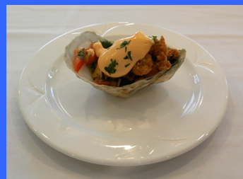 Crispy Oyster  - photo by Luxury Experience