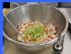 Mixings for Maine Lobster Salad  - photo by Luxury Experience
