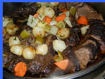 New England Pot Roast  - photo by Luxury Experience