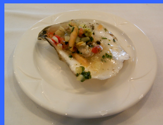 Oyster Ceviche  - photo by Luxury Experience