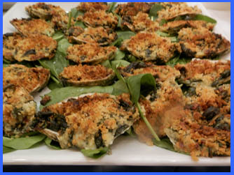 Oyster Rockefeller  - photo by Luxury Experience