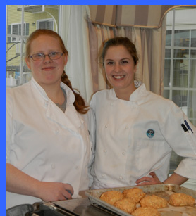 Pastry Chef Jillian and Chef MaCkensie  - photo by Luxury Experience
