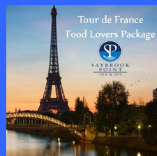 Tourd de France Food Lovers Weekend - Saybrook Point Inn & Spa