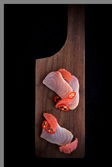 Opah Crudo - Sea Robins, Triggerfish & Other Overlooked Seafood - Photo by Sandi Gunrett