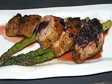 Chef Jordy's pema de pollo relleno