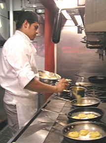 Victor Vega in the Kitchen