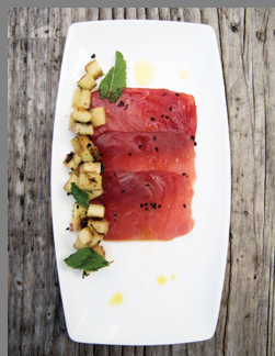 Tuna Sashimi - Simply Fish by Matthew Dolan