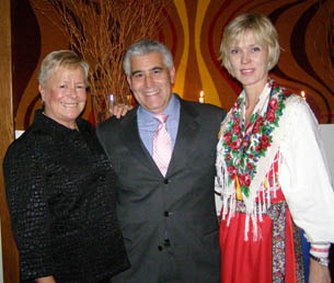 Annika Benjes, Edward F. Nesta, Eva Engman  - Photo by Luxury Experience