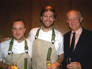 Chef Daniel Berlin, Chef Marcus Jernmark, Hakan Swahn - Photo by Luxury Experience