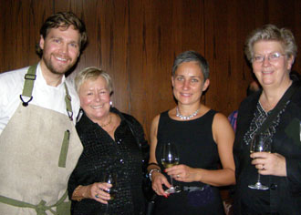 Chef Marcus Jernmark and Visit Sweden Team  - Photo by Luxury Experience