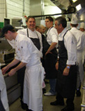Chef Andreas Mayer with Chefs