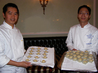 Chef Ip Chi Cheung and Chef Lu Kwok Ching