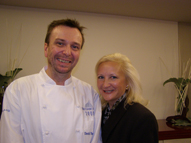 Chef David Thompson and Debra C. Argen